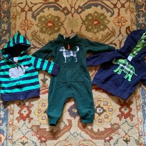 Lot of three Carter's items 3 mos